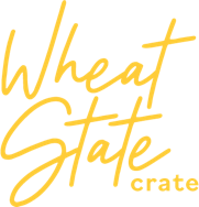 Wheat State Crate Logo - Yellow